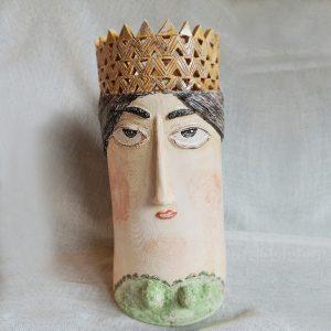 Prenses Seramik Vazo