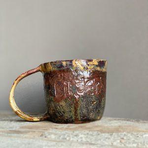 bihter el yapımı seramik kupa