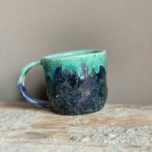 cansu el yapımı seramik kupa