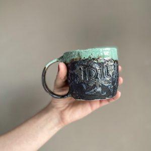 idil el yapımı seramik kupa