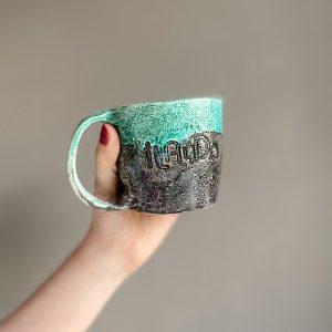 İlayda el yapımı seramik kupa